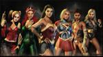 DC Super Hero Girls wallpaper by ethaclane