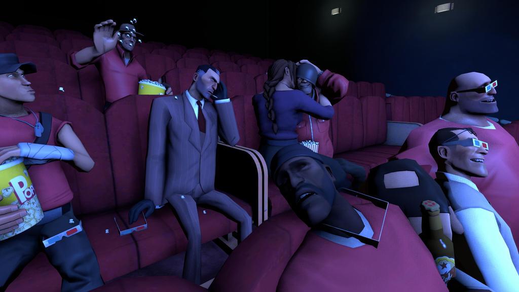 Cinenight [SFM] by Bashichan