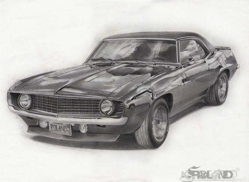 1969 chevrolet camaro by rol4ndesignstudio on deviantart