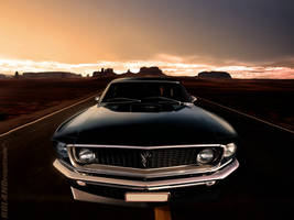 1969 Ford Mustang - Endless by ROL4NDesignStudio