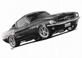 1967 Ford Mustang by ROL4NDesignStudio
