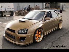 Subaru Impreza by ROL4NDesignStudio