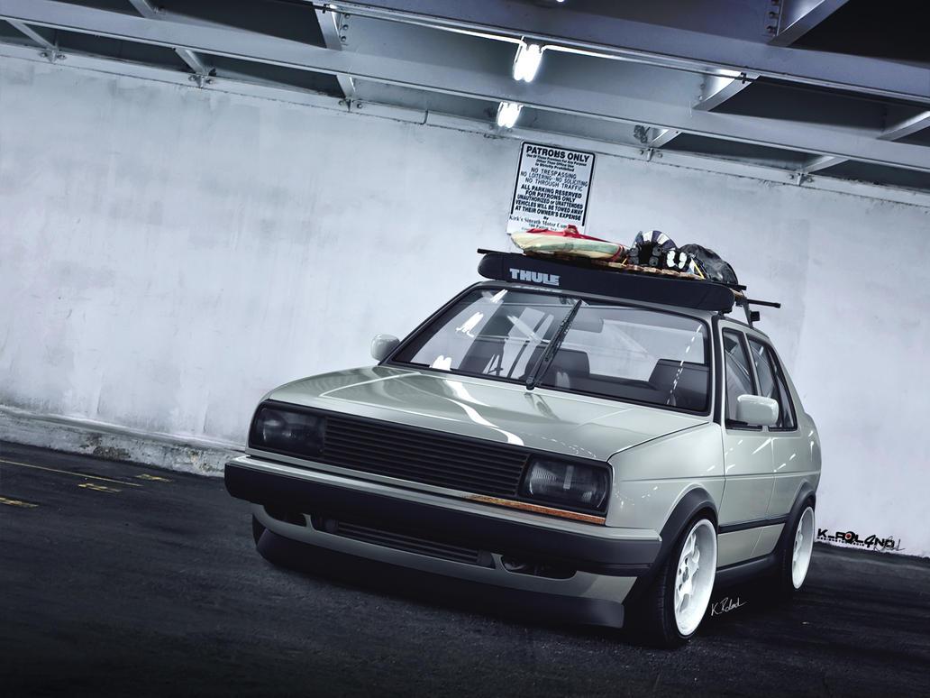 Volkswagen Jetta mk2 by ROL4NDesignStudio