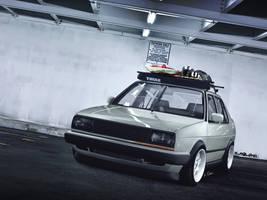 Volkswagen Jetta mk2