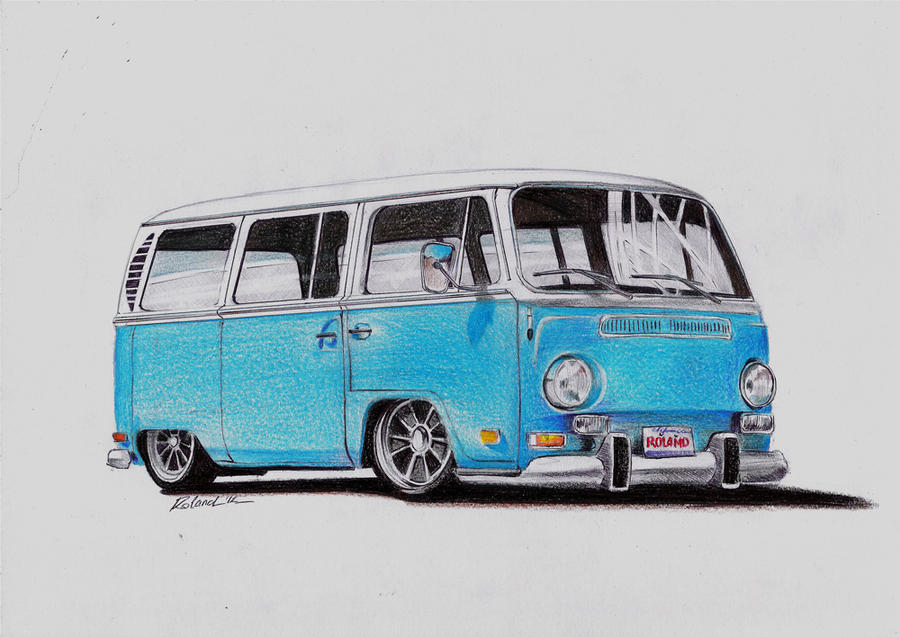 Old Volkswagens, old drawings › Autemo com › Automotive