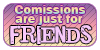 Commissions Friends [Pastel] by xFarfalla