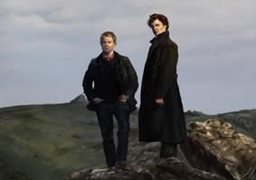 Sherlock and John by Arkarti