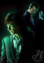 BBC Sherlock by Arkarti