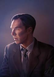 Alan Turing by Arkarti