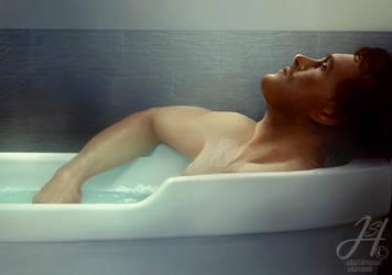 Bathing by Arkarti