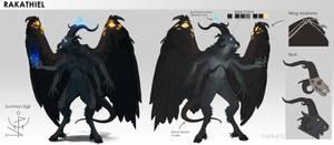 Rakathiel | Character Design