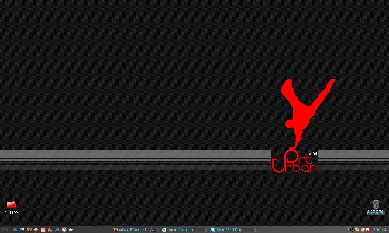 My Desktop by urbanAR7