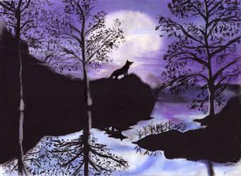 Wolf by Lethalnightmarez