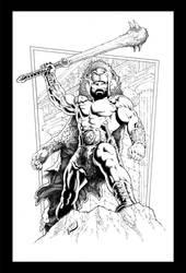 I Am Hercules Pencils by Yannis Rubus Roumboulias