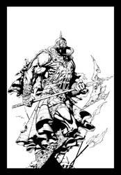 Death Dealer Inks by JL Straw
