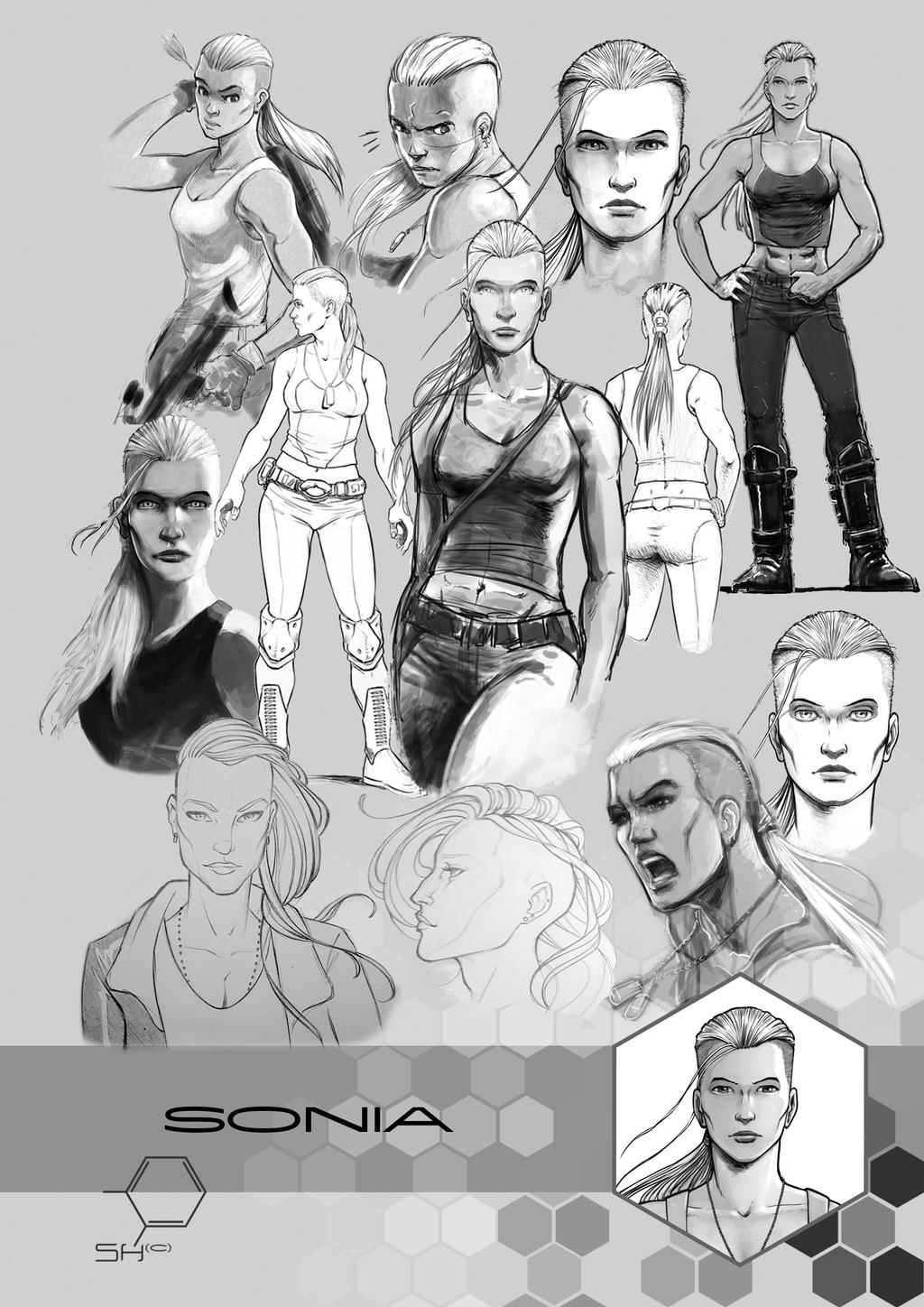 SH Concept Art: Sonia by TheInkPages