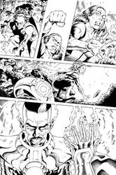 Green Lantern Page 3 by TheInkPages