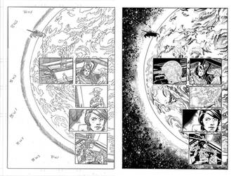 Halo Lone Wolf Issue 1 Pg 06 Inks by TheInkPages