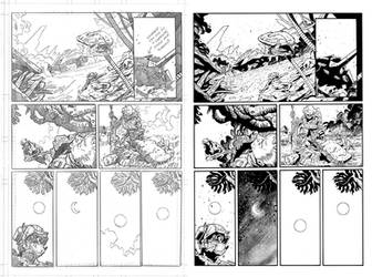 Halo Lone Wolf Issue 1 Pg 07 Inks by TheInkPages