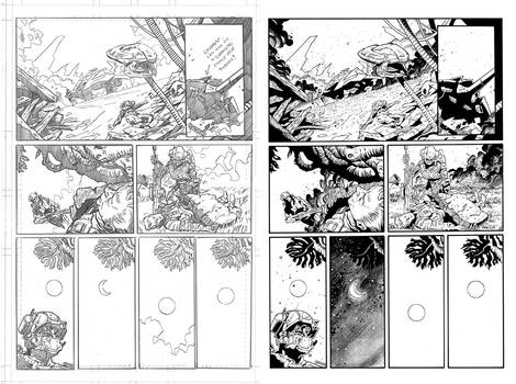Halo Lone Wolf Issue 1 Pg 07 Inks