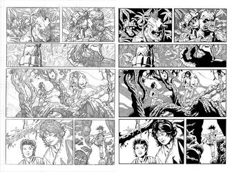 Halo Lone Wolf Issue 1 Pg 13 Inks by TheInkPages