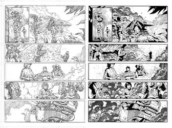 Halo Lone Wolf Issue 2 Pg 19 Inks by TheInkPages
