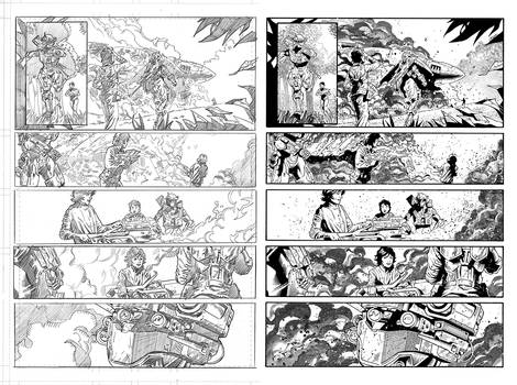 Halo Lone Wolf Issue 2 Pg 19 Inks