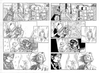 Halo Lone Wolf Issue 2 Pg 20 Inks by TheInkPages