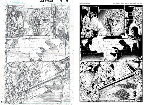 Infernal Issue 5 page 04 INKS