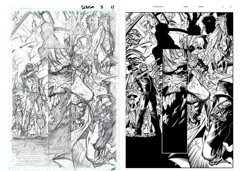 Infernal Issue 5 page 11 INKS