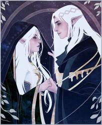 Elfy elves doing elfy things