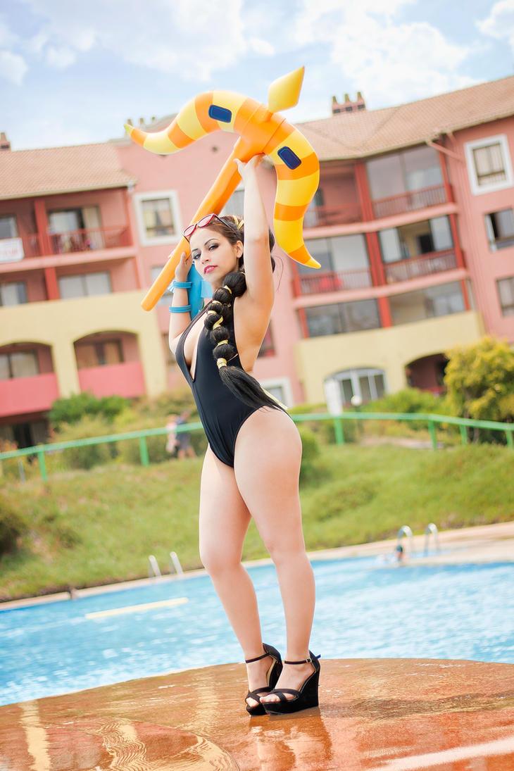 Vayne Pool Party by Susana--chan