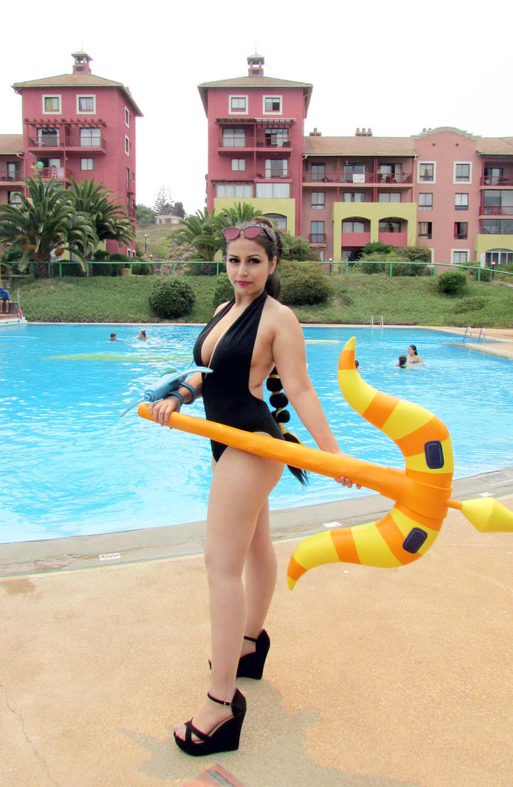 Su Vayne Pool Party by Susana--chan