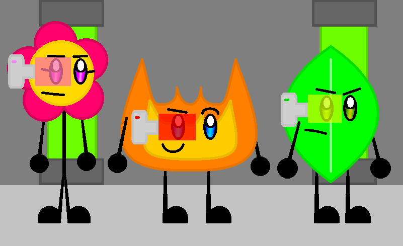 The Natural Gang Bfdi Version By Agentelitefirey On