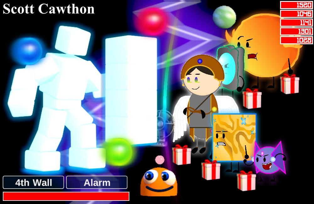 Fnaf World Scott Cawthon Boss Fight Remastered By