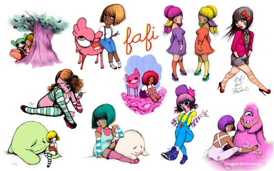 Fafi wall tribute by natashell