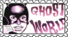 Ghost World mask stamp by natashell