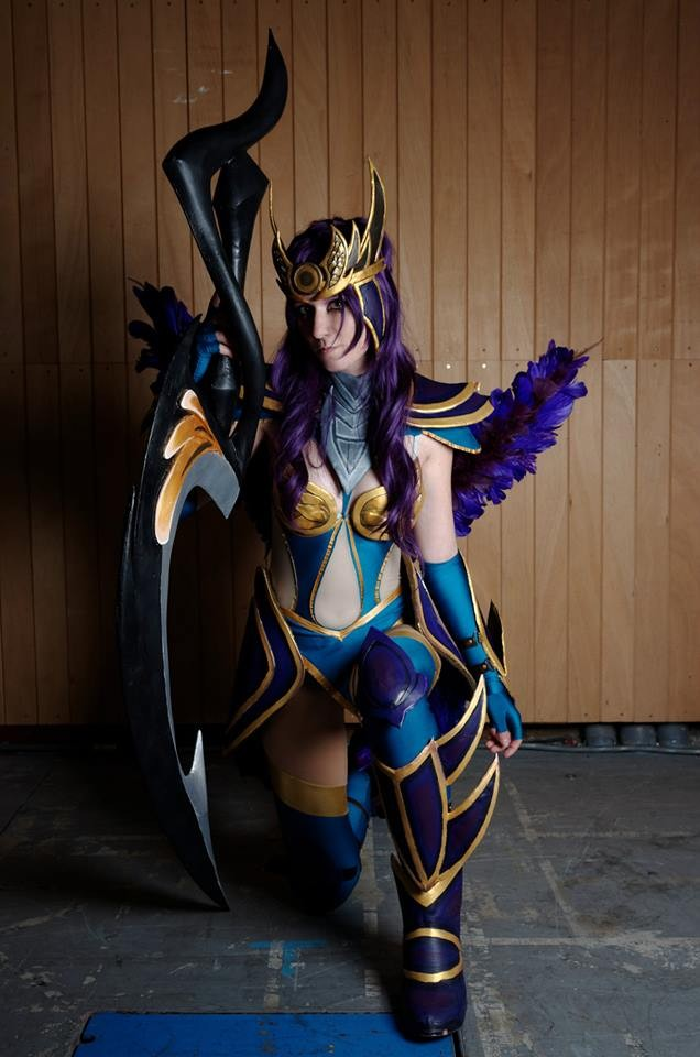 Diana Valkyrie sombre Cosplay League of legends by ...