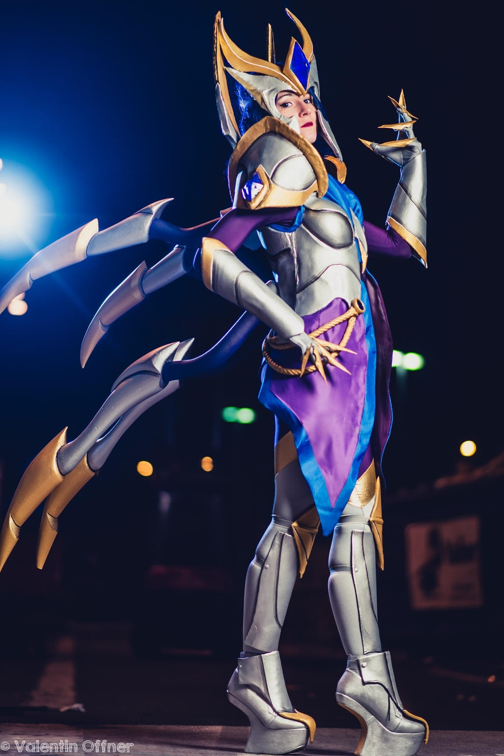 Amazing Elise Victorious Cosplay : leagueoflegends