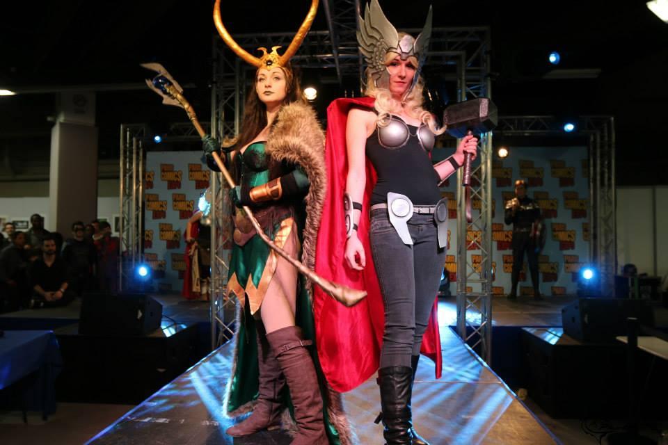 Lady Loki and Laky Thor by Bahamut95