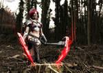 Akali headhunter cosplay