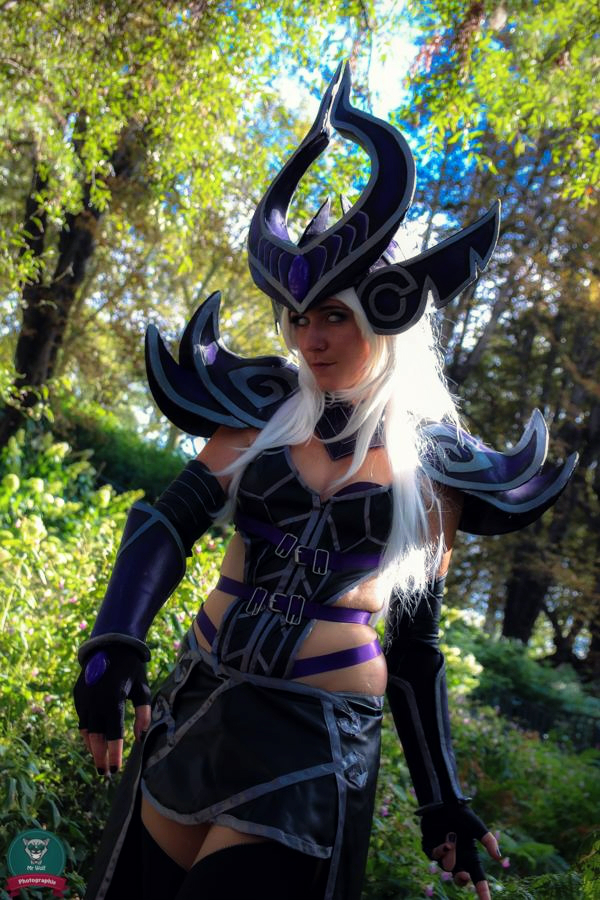 Syndra cosplay by Bahamut95
