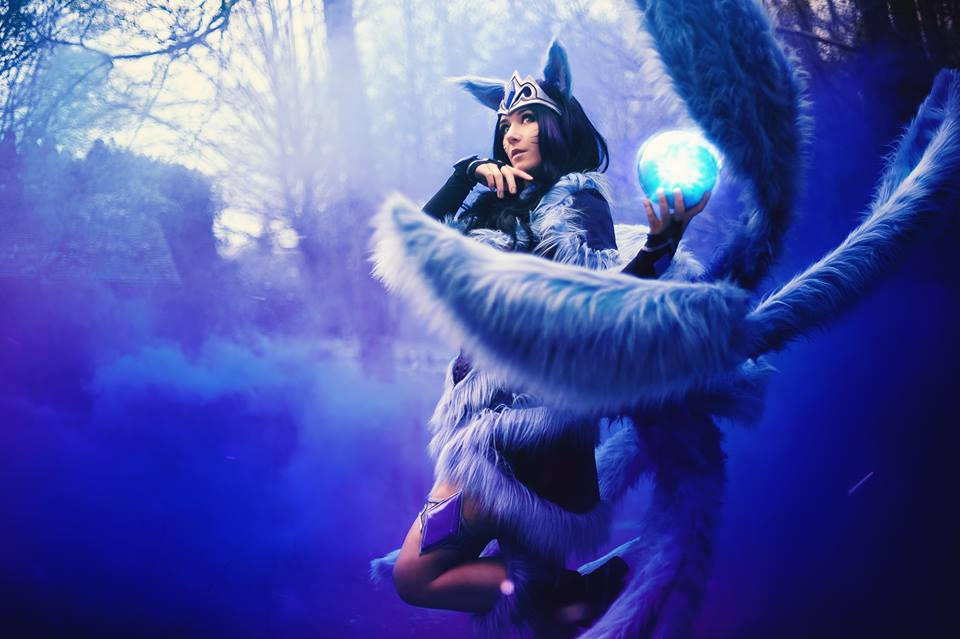 Cosplay Ahri midnight by Bahamut95