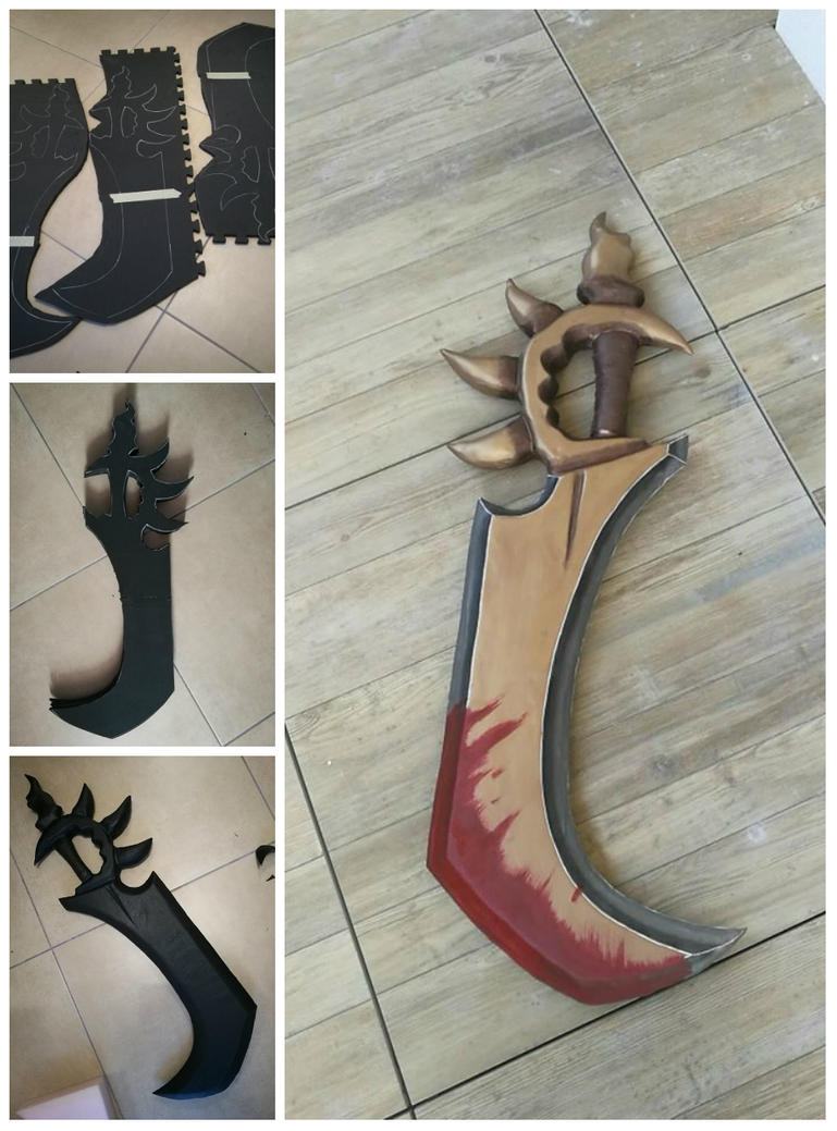 Rengar wip ! (weapon) by Bahamut95
