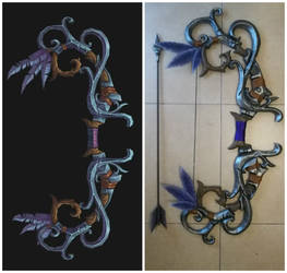 Tyrande cosplay bow by Bahamut95