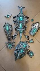 Tyrande cosplay armor by Bahamut95