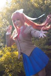 Monika cosplay by Bahamut95