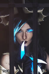 Shadow Evelynn cosplay ! by Bahamut95