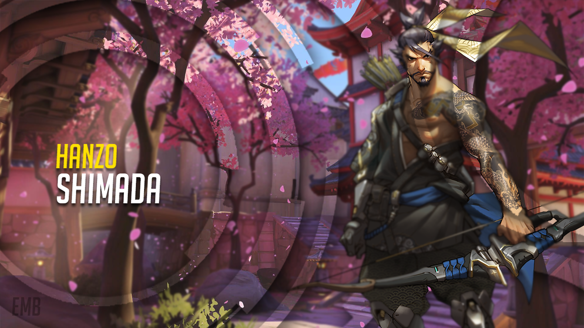 hanzo wallpaper (1366x768)emberous-nawtn00b on deviantart