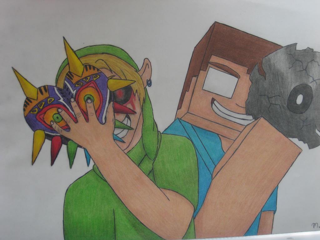 Herobrine creepypasta drawing